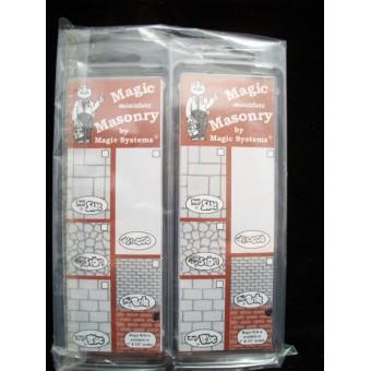 """Magic Masonry""  Slate  2sqft dollhouse miniature SW540  1/12 scale"