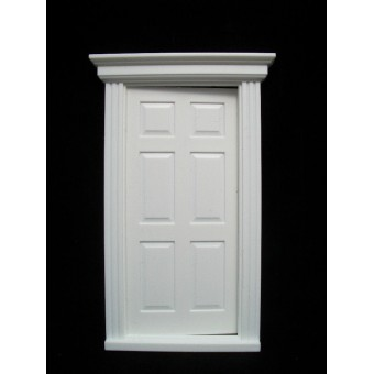 Door: Georgian Front Door small Jacksons Miniatures plastic 1/12 scale B02