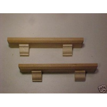 Mantles shelves furniture dollhouse trim supplies 2pcs 1/12 scale