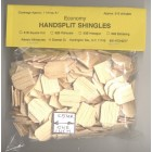 Shingles - Hexagon #63B Split Wood 315pcs 1/12 scale dollhouse made in USA