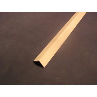 "Roof Ridge Cap dollhouse trim molding 3/4""wide 1pc  23"" long 1/12 scale basswood"