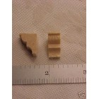 Corbel #1  wood 1/48 O scale model building parts 10pc brace basswood