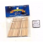 Spindles Balusters CLA77025 wooden dollhouse miniature 12pc  1/12 scale
