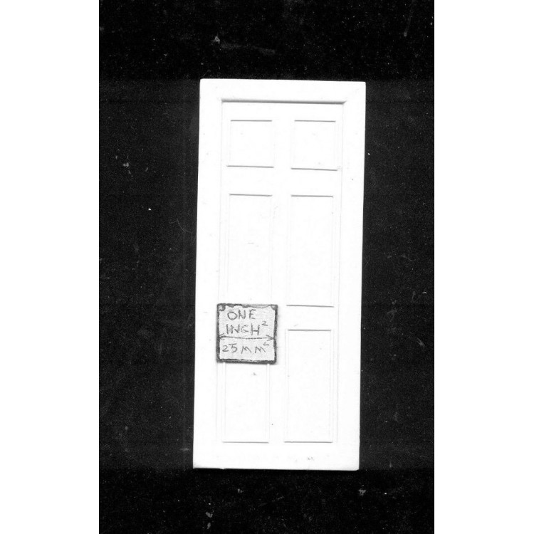 FALSE DOOR UMD1 dollhouse miniatures 1//12 scale polyresin