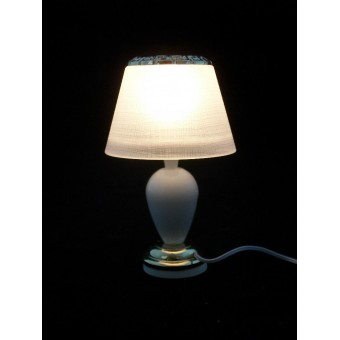 Light - White Teardrop Table Lamp 2530 miniature