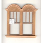 Window by Bespaq 703WND Craftsman style -  wooden dollhouse miniature 1:12 scale