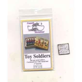 Kit - Toy Solders w/ Box TY115 - dollhouse furniture Dragonfly 1/12 scale wood