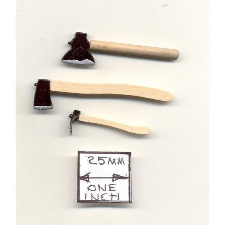 Jack Plane 1//12 scale dollhouse tool cast metal miniature ISL0221 carpenter