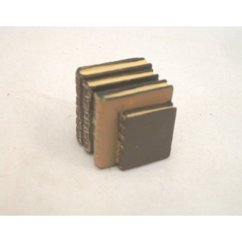 """Stack of Books - Resin -  4060  dollhouse miniature 1/12"""" scale Houseworks"""