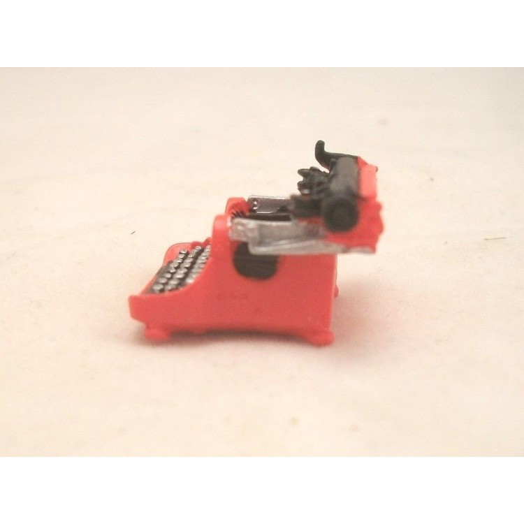 Corona Typewriter Resin 4054 Dollhouse Miniature 1 12
