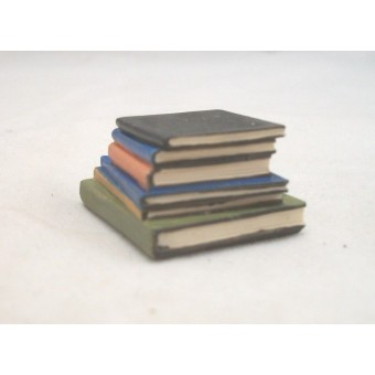 """Stack of Books - Resin -  4062  dollhouse miniature 1/12"""" scale Houseworks"""