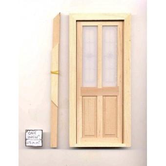 Door - Exterior Transom - dollhouse miniature 1/12 scale CLA76030