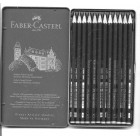 Pencil Set 12pc & Tin Box - Faber-Castell - made in Germany Castell 9000 Art Set