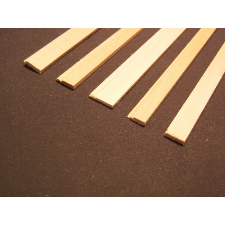 "Dollhouse Miniatures Baseboard Trim Molding 3//8/"" wide x 18/"" long 1:12 Scale"