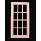 Playscale Window 12-panes miniature dollhouse 95024 1/8 & 1/6 scale Fashion Doll