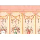 Natasha 193D23 MiniGraphics dollhouse wallpaper 1pc 1/12 scale