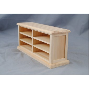 Store Counter 9953 dollhouse miniature 1/12 scale Houseworks unfinished wood
