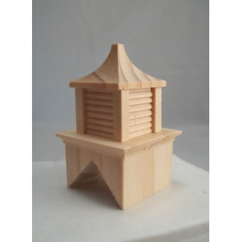 Cupola barn roof  Half Scale 1:24 Dollhouse wooden #H2407 Houseworks 1pc.
