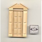 Half Scale Door Americana  1:24 Dollhouse wooden #H6004 miniature Houseworks