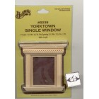 Window  - Yorktown Single - dollhouse miniature 1:12 scale  5038 1pc wooden