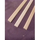Window Door Trim #1 molding  dollhouse Casing Sill 3pcs  1/12 scale basswood