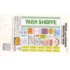 Yarn Shoppe Signs -  S102 - 1/12 Scale dollhouse miniature -