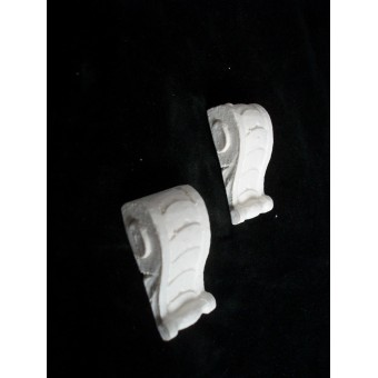 Brace / Corbel  UMB5  poly-resin casting  dollhouse miniatures  1/12 scale  2pc
