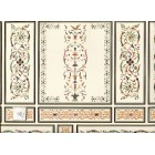 World & Model Relief 34804 Wallpaper Panel dollhouse 1pc  1/12 scale