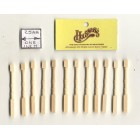 Spindles Balusters 7203 dollhouse wooden miniature 12pc  1/12 scale