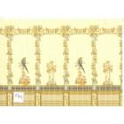 Tile Wall Sheet  34489w Parrot dollhouse miniature 1pc