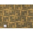 Flooring Sheet - Parquet Light Wood dollhouse miniature paper floor 1pc RPPAR2