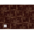 Flooring Sheet - Parquet Dark Wood dollhouse miniature paper floor 1pc RPPAR4