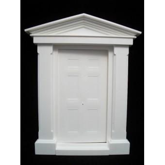 Door   Georgian Front Door large Jackson's Miniatures plastic 1/12 scale B01
