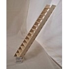 "Stairs 60 degrees Dollhouse steps  for 10"" Ceiling 1/12 scale made in  USA #88"