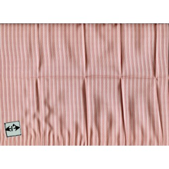Fabric Brodnax Prints Red Stripe FEC03 miniature dollhouse Silk 1/12 scale 1pc