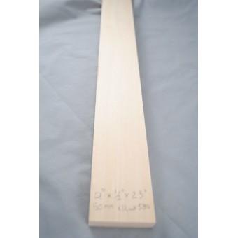 "1/2"" x 2""  x  23"" Model Lumber basswood architect timber 1p craft MW"
