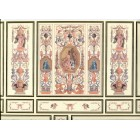 World & Model Relief 34805 Wallpaper Wall Panels dollhouse 1/12 scale miniature