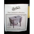 Kit - Dough Box colonial miniature wooden furniture 13102 1/12 scale Houseworks