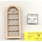Half Scale - Palladian Window 2169HS wood dollhouse miniature 1/24 scale USA