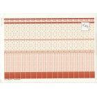 Mediterranean Wall Tile Sheet  34325 dollhouse 1pc World & Model card stock