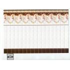 Mediterranean Wall Tile Sheet  34327 dollhouse 1pc World & Model card stock