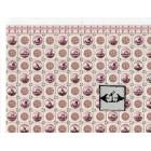 Delft Dutch Wall Tile Sheet  34439 dollhouse 1pc World & Model card stock