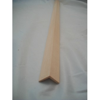 "Roof Ridge Cap 11/16""wide 23"" long dollhouse basswood trim 1pc"