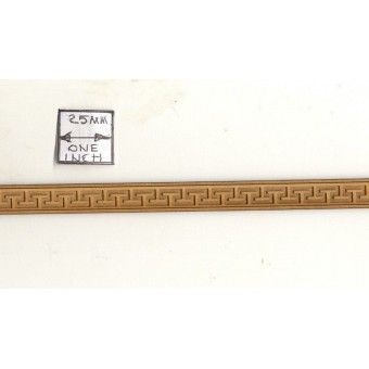 "Fancy Trim 3002 - basswood dollhouse miniature 1:12 scale 24"" long USA made  1pc"