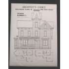 Dollhouse Plans Design 7 Architect's Choice 1:12 Scale Victorian Queen Anne