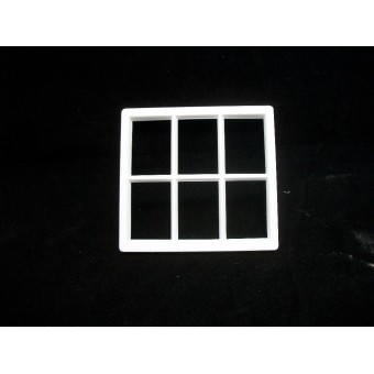 Window: Georgian 6 Pane dormer Window Jacksons Miniatures 1/12 scale B09