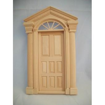 Door - Windsor Exterior T7511 dollhouse miniatures 1/12 scale Victorian Fairy