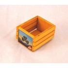 Wooden Fruit Crate / box dollhouse Classics Miniatures IM69024C  1/12 scale