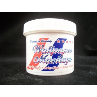 Wallpaper Paste Mucilage 4 fluid ounces Pre-mixed dollhouse supplies