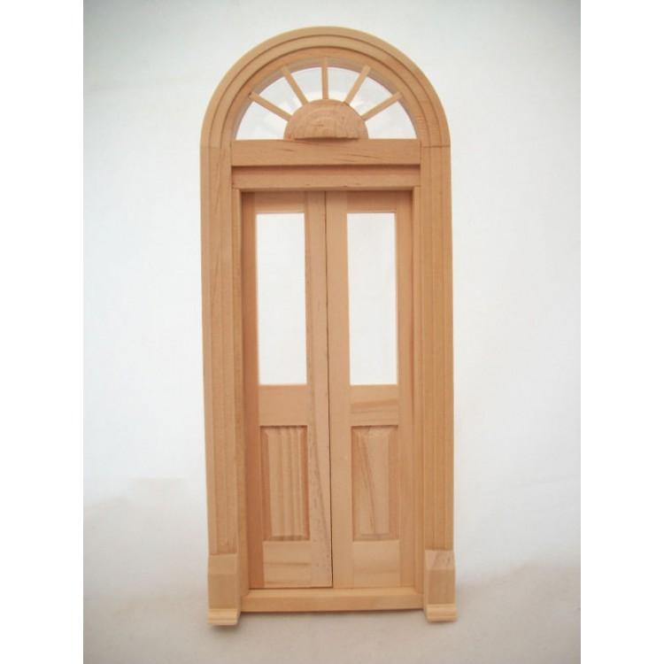 Houseworks Miniatures 1:12 Scale Cross Buck Dutch Door